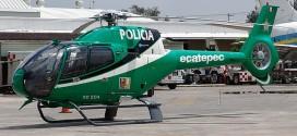 Adquiere el municipio de ecatepec helicóptero para vigilar colonias y calles