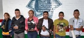 Caen seis personas armadas en Ecatepec