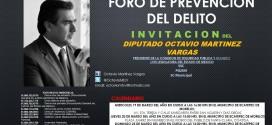 FORO DE PREVENCIÓN DEL DELITO