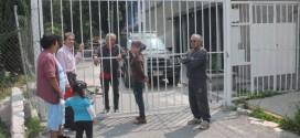 Impunemente individuo se robó calles en Jardines de Santa Clara-Ecatepec.