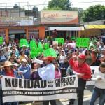 protesta PRI