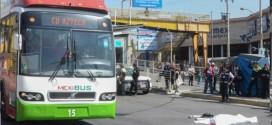 MEXIBÚS ARROLLA A DISCAPACITADO EN ECATEPEC