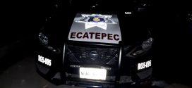 Policía de Ecatepec frustra robo de auto; detenidos dispararon armas de fuego contra uniformados